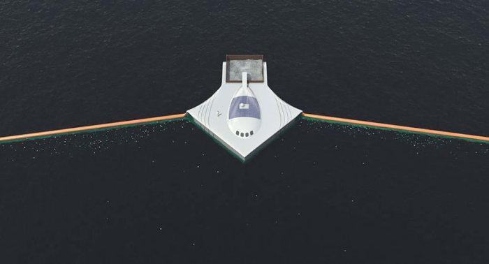 система очистки океана