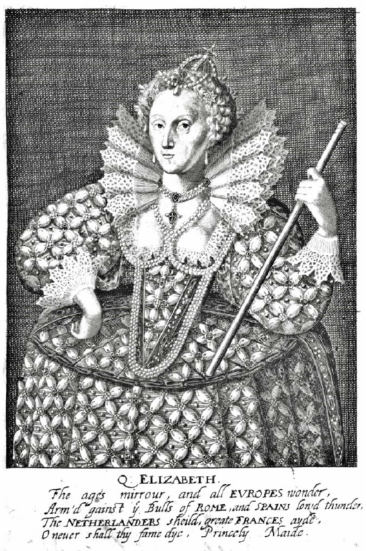 George Glover c 1630 The Nine Woeman Worthys Q Elizabeth.jpg