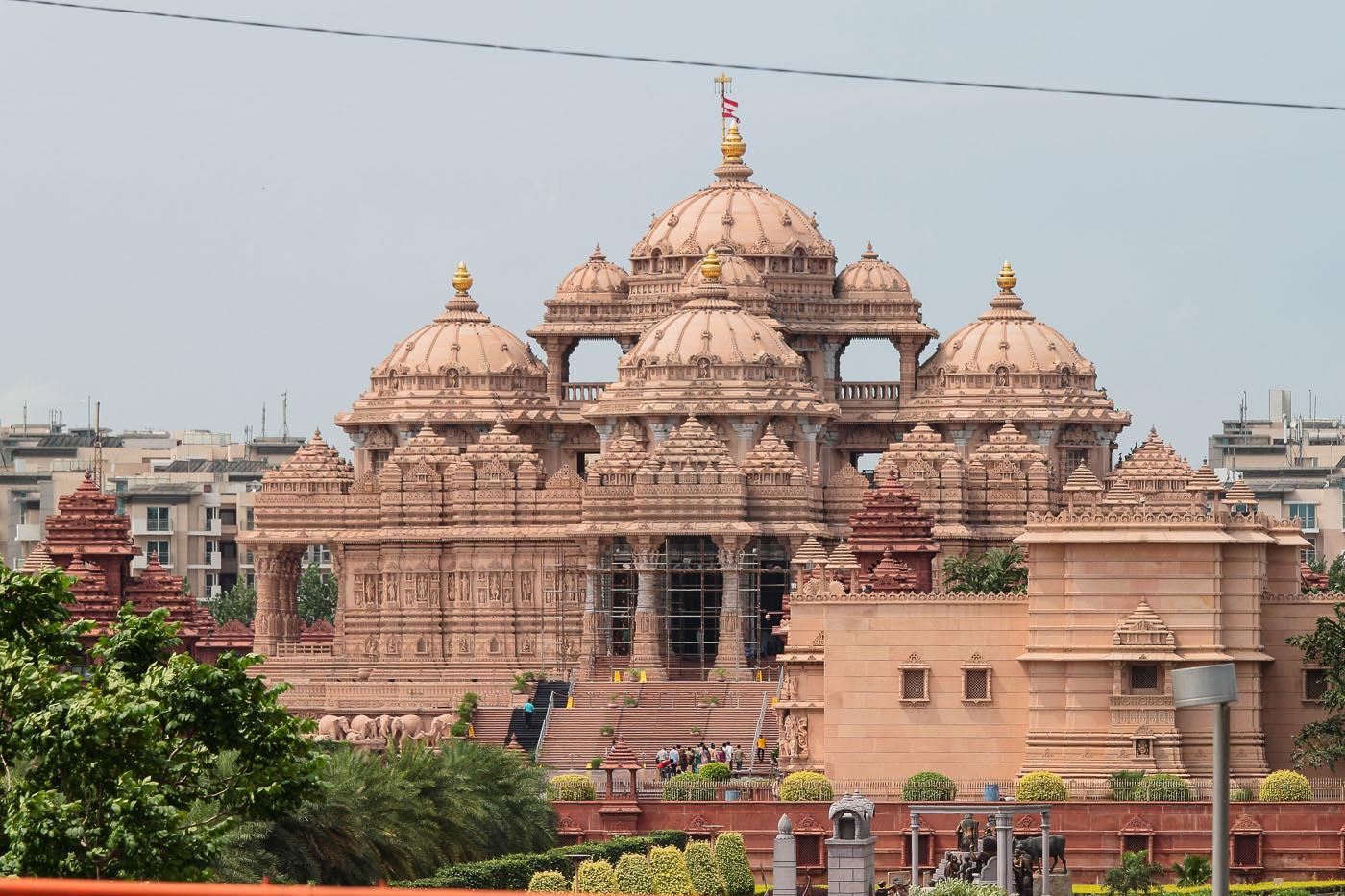 Фото 18. Храм Акшардхам (Swaminarayan Akshardham) в Дели. Отчеты об экскурсиях по Индии