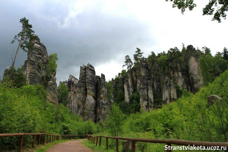 Чехия, Праховские скалы