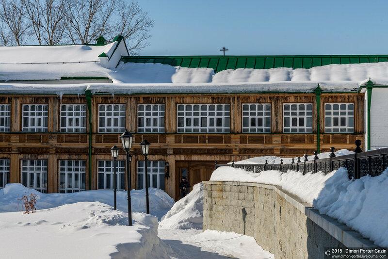 пос. Прииртышский. Иоанно-Введенский монастырь