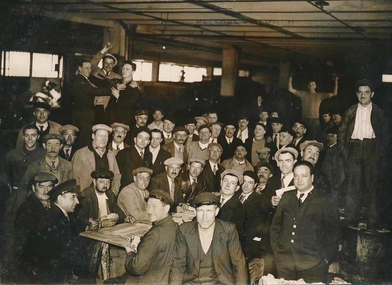 1936. Забастовка водителей