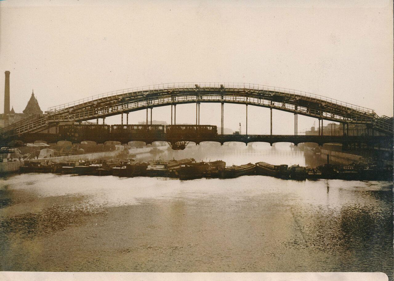 1936. Забастовка лодочников у моста Аустерлиц