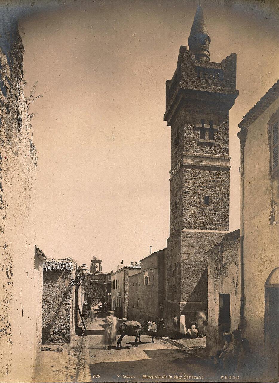 Тебесса. Мечеть на улице Каракаллы