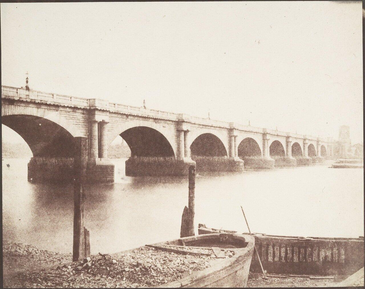 1846. Старый мост Ватерлоо, Лондон