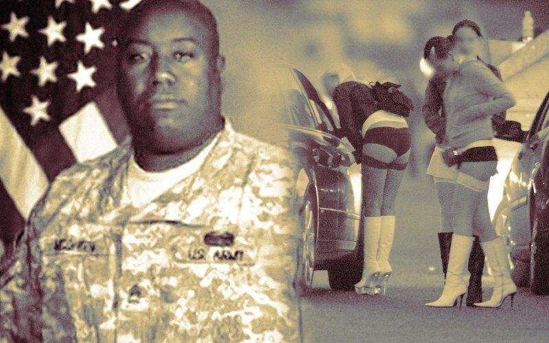 Голодные американские солдаты-проститутки