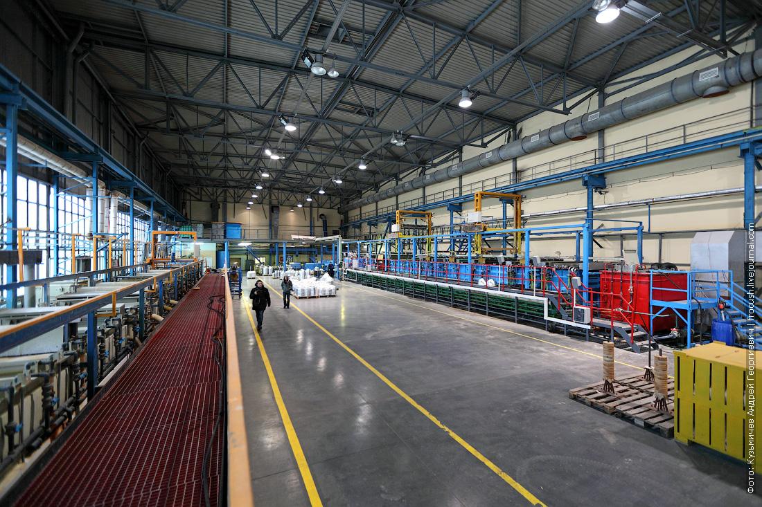 завод светильников для дорог Москвы