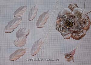 Мастер-класс. Роза  с газетным принтом «Lady Print» от Vortex  0_fc138_8375a90e_M