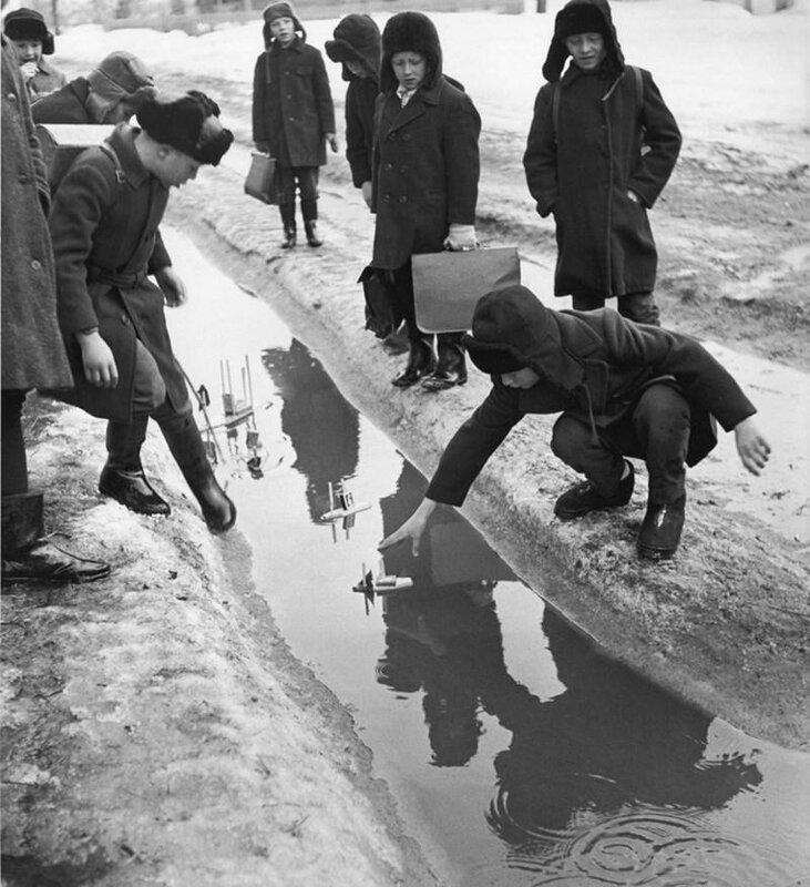 1 Вадим Опалин  «Сельская школа». 1970 год.jpg