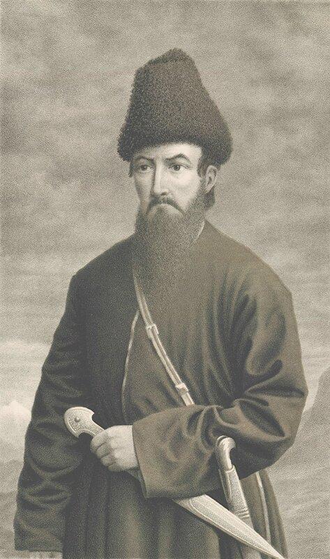 Имам Шамиль сын царевича Александра из династии Багратионов?