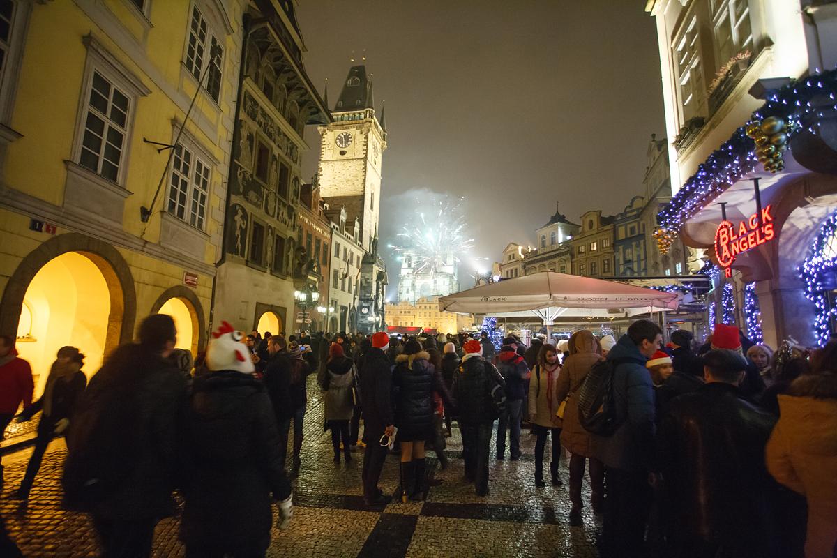 фото, фотографии, новый год в праге, новогодняя ночь в праге, новогодняя прага