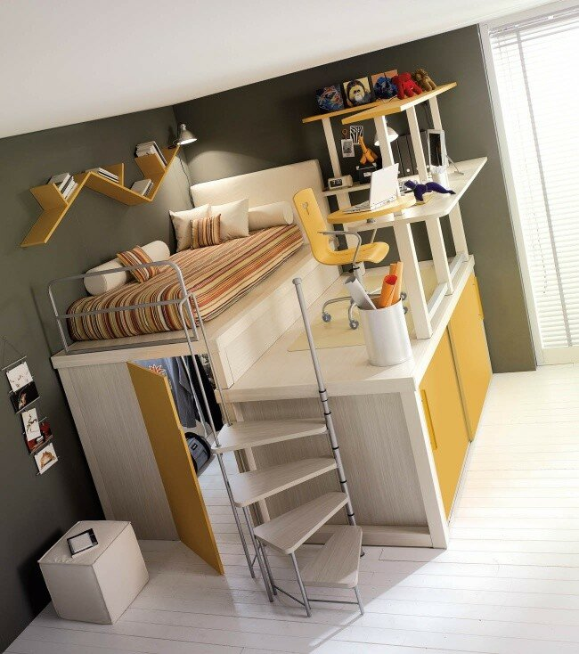 20 гениальных идей по увеличению пространства в доме