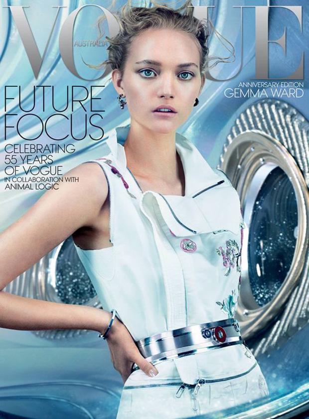 Джемма Уорд (Gemma Ward) в журнале Vogue Australia (2 фото)