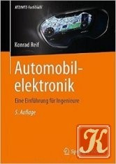 Книга Книга Automobilelektronik: Eine Einführung für Ingenieure - Konrad Reif