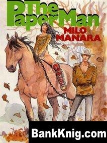 Книга Milo Manara (The Paper Man)