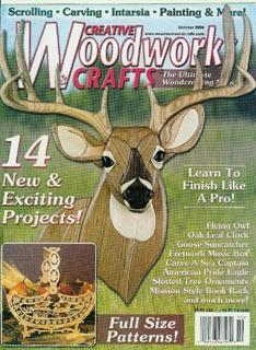 Журнал Журнал Creative Woodworks & Crafts №10 2000