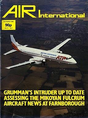 Журнал Air International - Vol 31 No 6