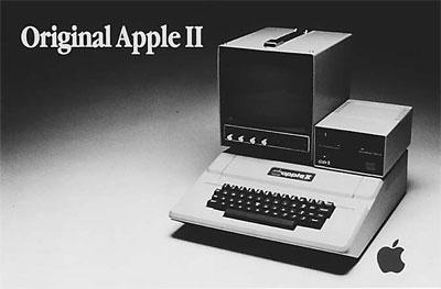 Apple II – самый популярный компьютер Apple