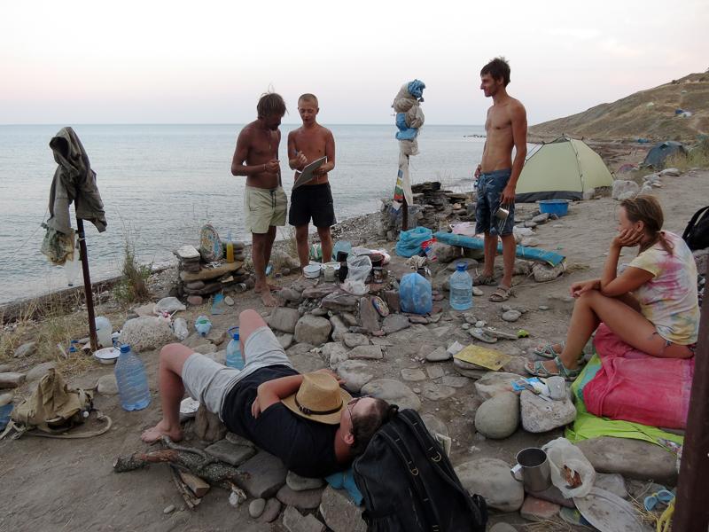 Новые фото нудистов в Крыму  nudsu
