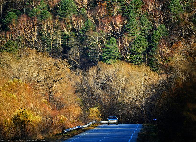Осень в Приморском крае