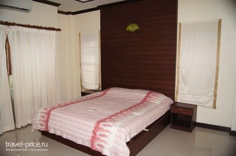 уютная спальня в доме