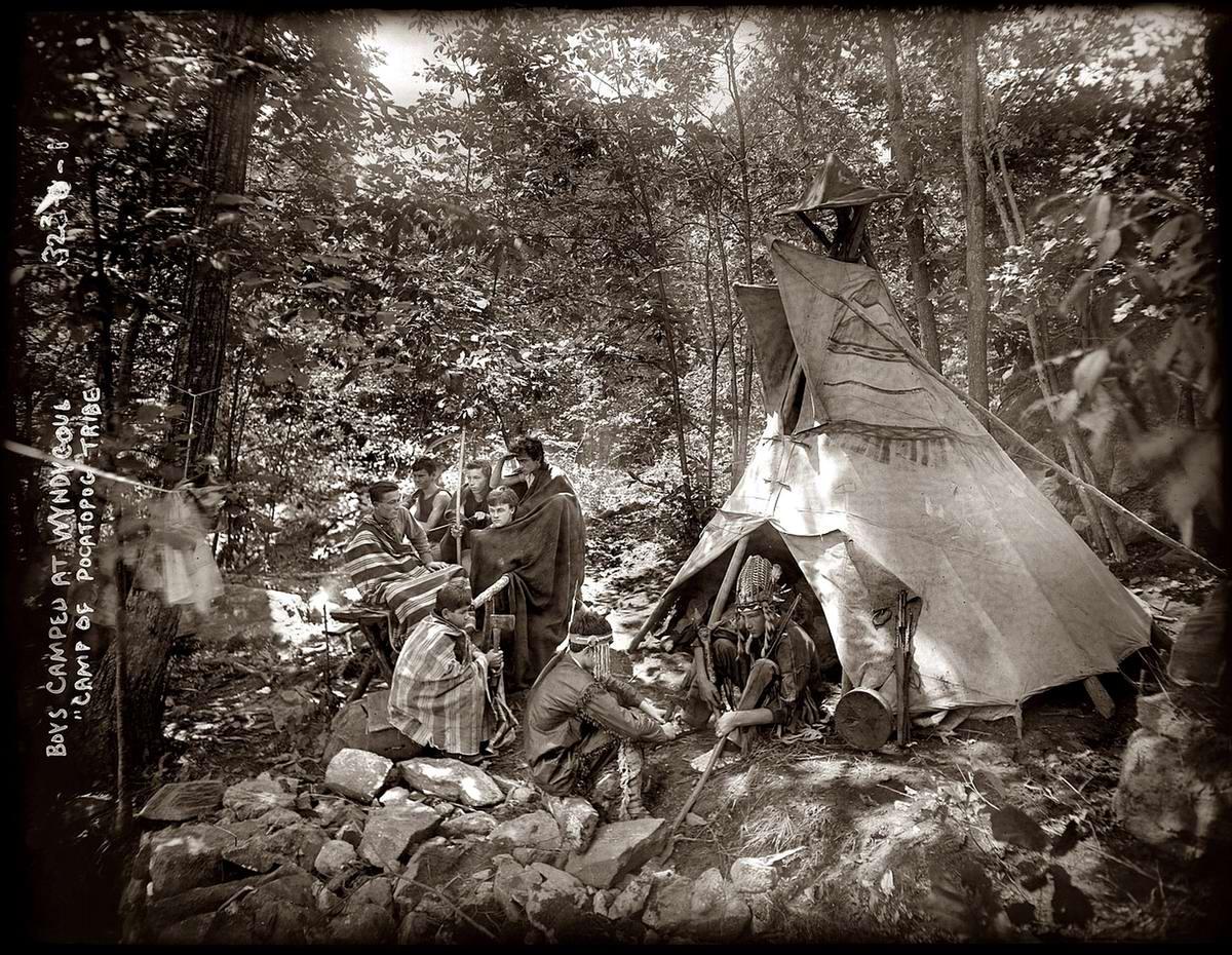 Американские бойскауты начала 20-го века на снимках фотографов (1)