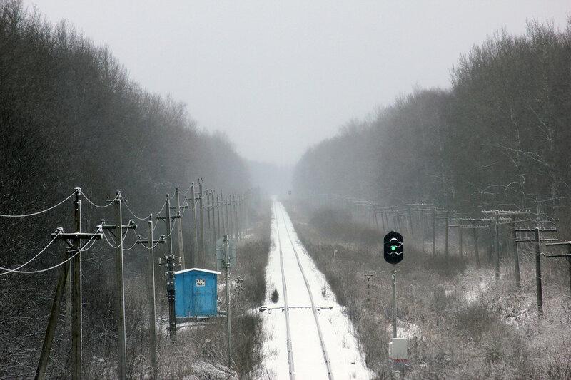 С моста М9 на Рождествено, Вязьму