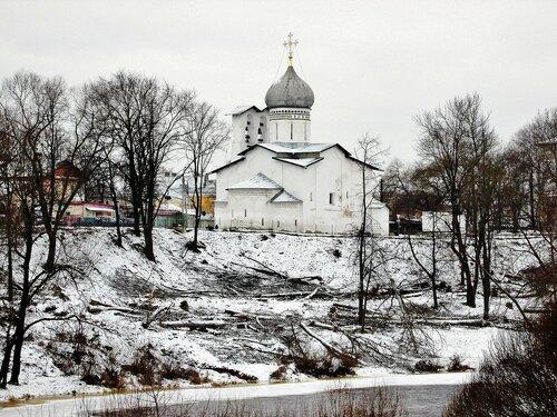 Церковь Петра и Павла с Буя во Пскове