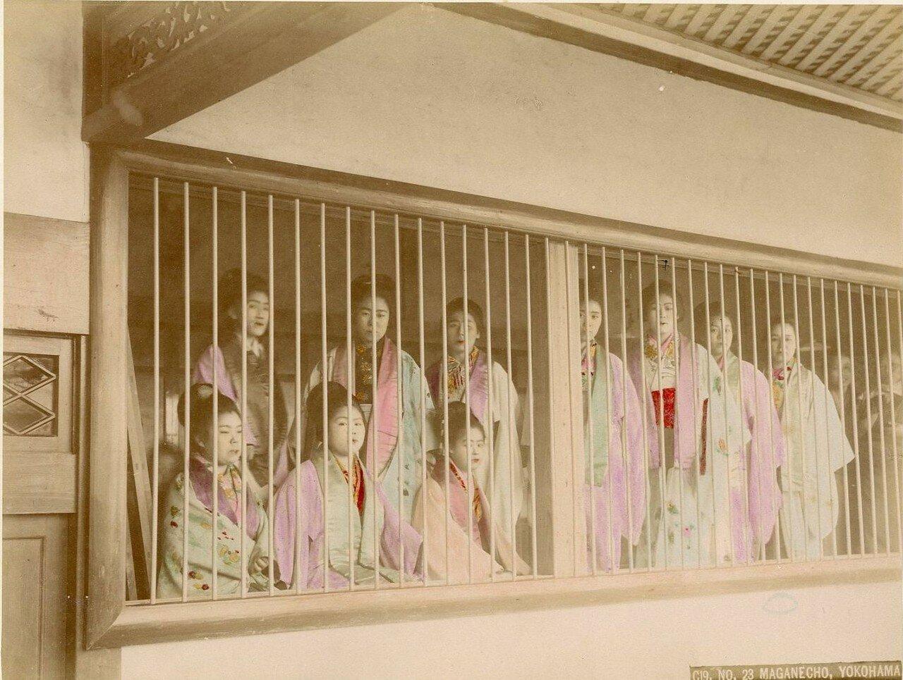 Иокогама. Проститутки района Магането