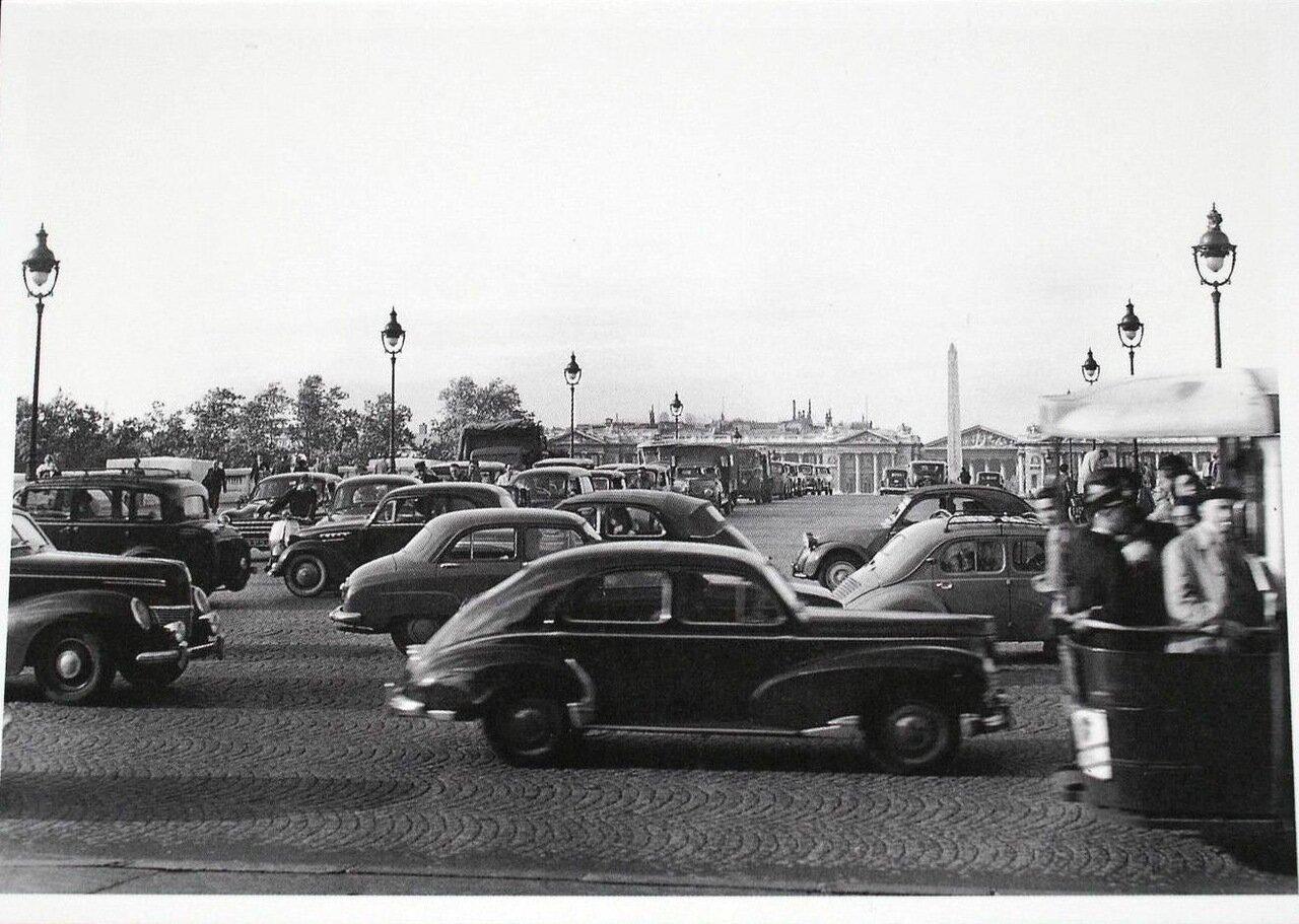 1954. Пляс де ля Конкорд