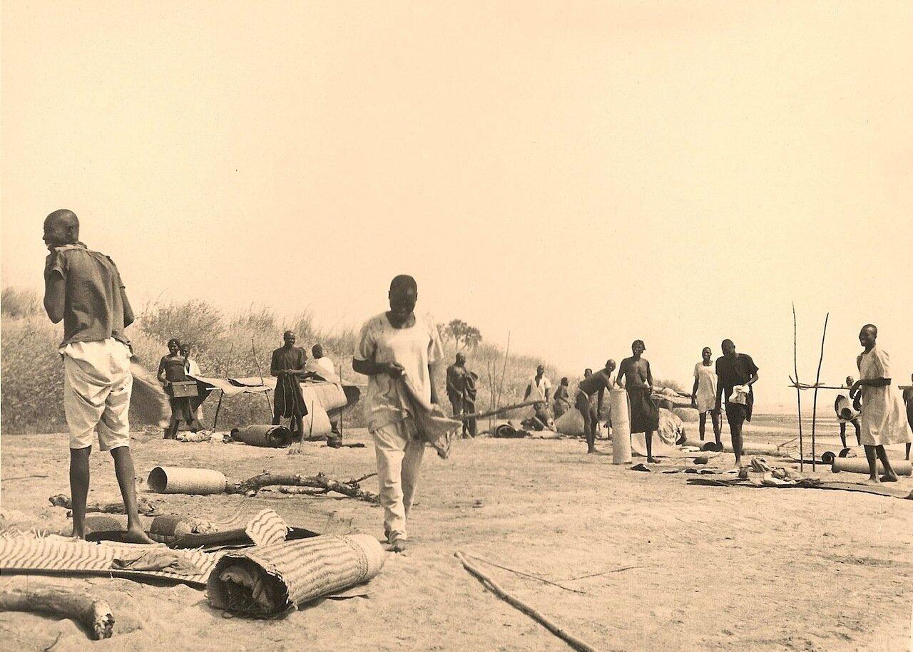 34. Сворачивание лагеря