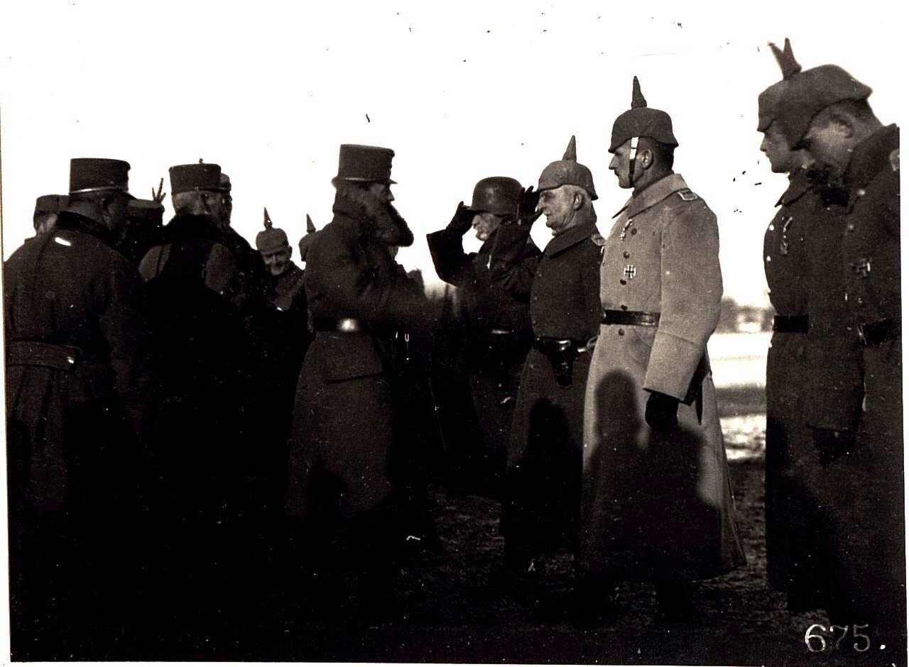 Besuch von Kaiser Karl in Wladimir Wolinsky