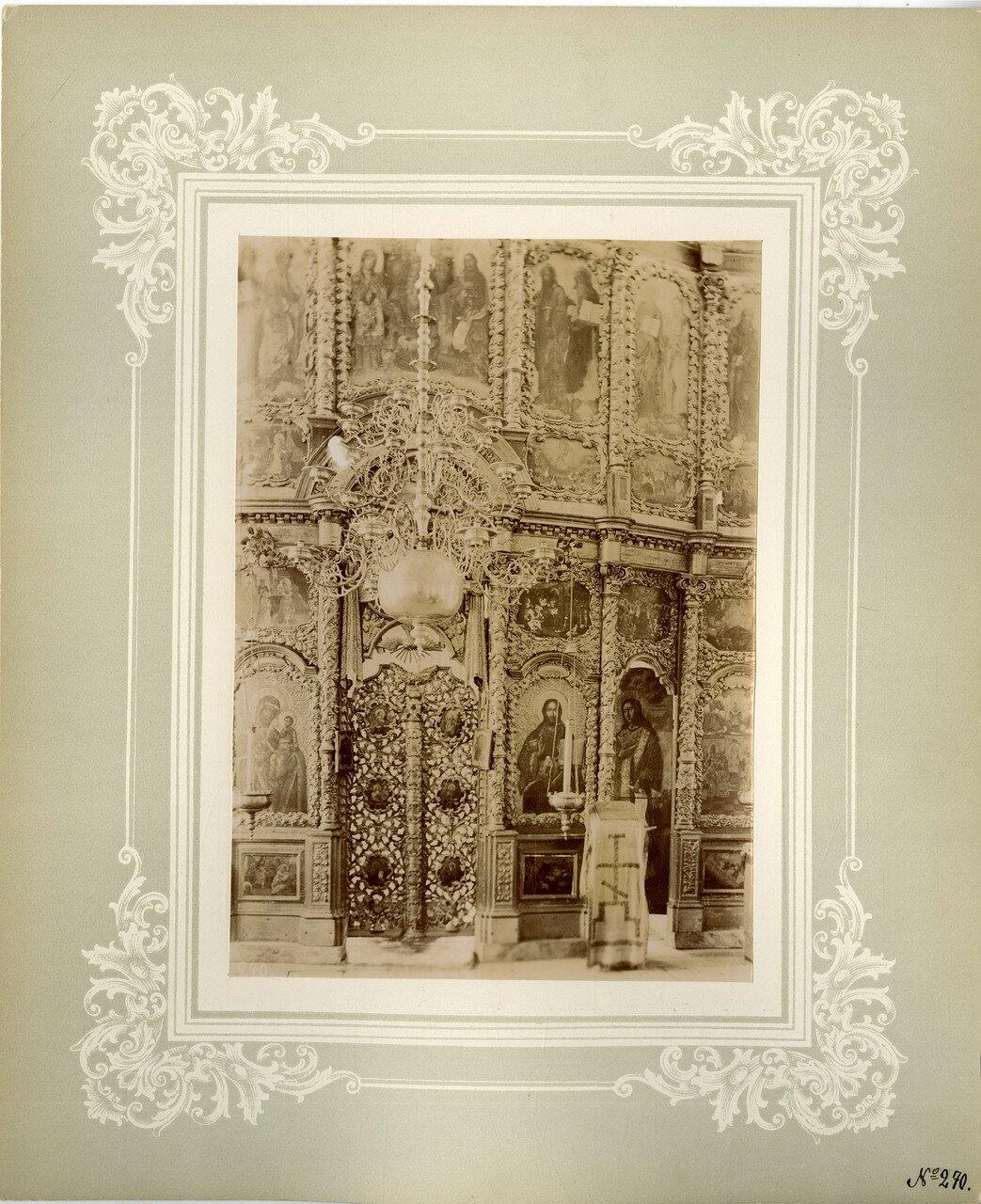 23. Иконостас Покровской церкви