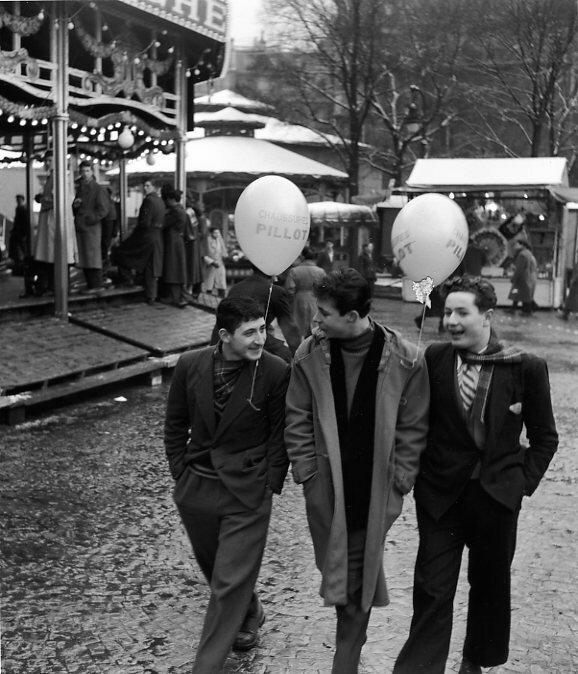 1953. Ярмарка. Париж
