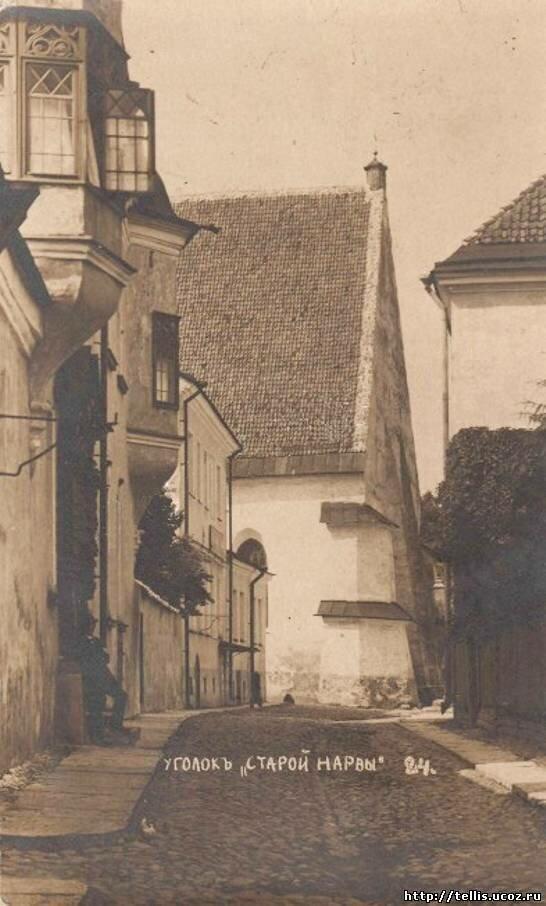 Вид с юга на Иоанновскую церковь