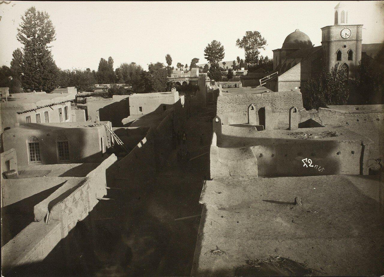 Тегеран. Вид города и крыш