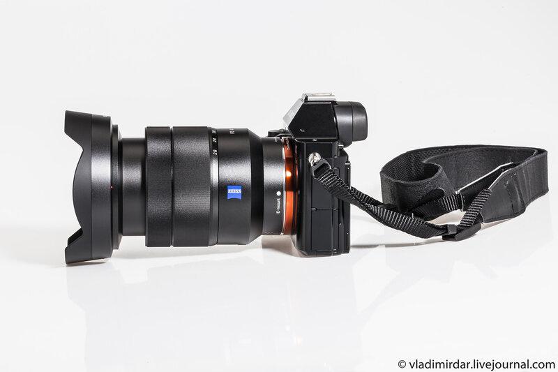 Фотокамера Sony Alpha A7R с объективом Sony FE 16-35/4 CZ T*
