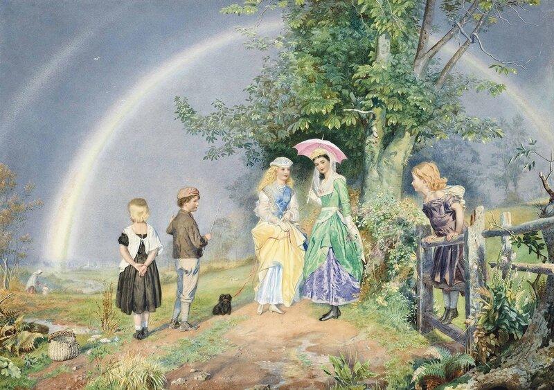 Джон Симонс (John Simmons), 1823-1876. Англия
