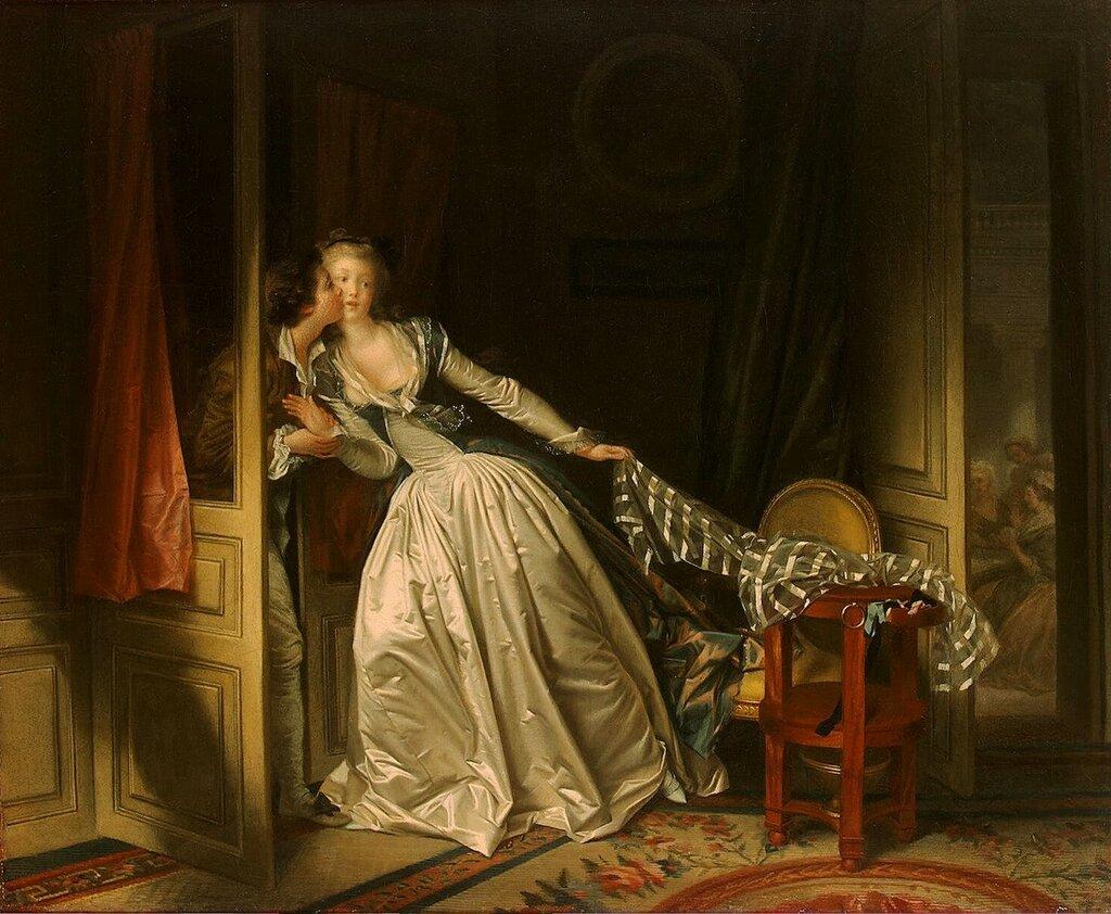 Жан Оноре Фрагонар Поцелуй украдкой, 1780