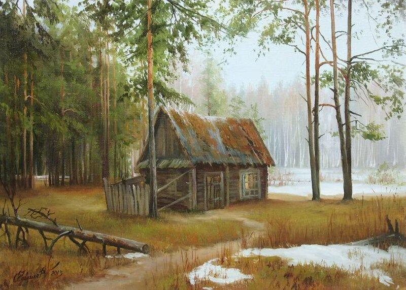 Белорусский художник Олег Чувашев. Нежные пейзажи и натюрморты 0 1110c1 641a8a72 XL