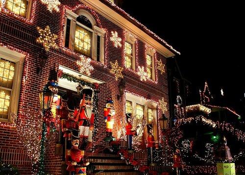 Нью-Йорк на Рождество
