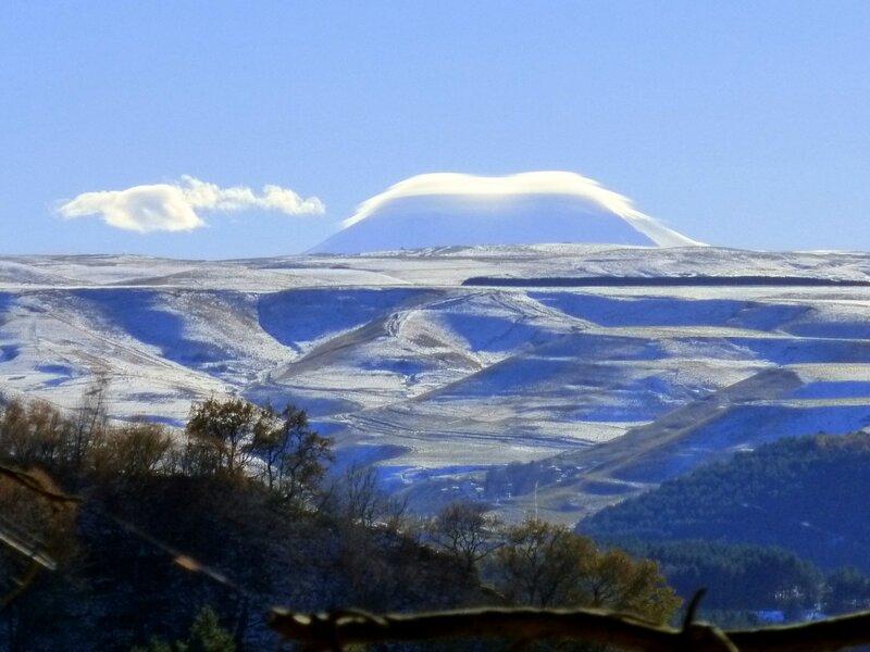 Вид на Эльбрус с Красного солнышка