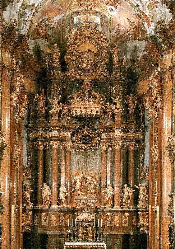 Главный алтарь (восточная часть монастырской церкви)