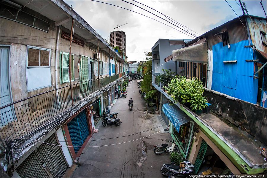 Спальный район Сайгона