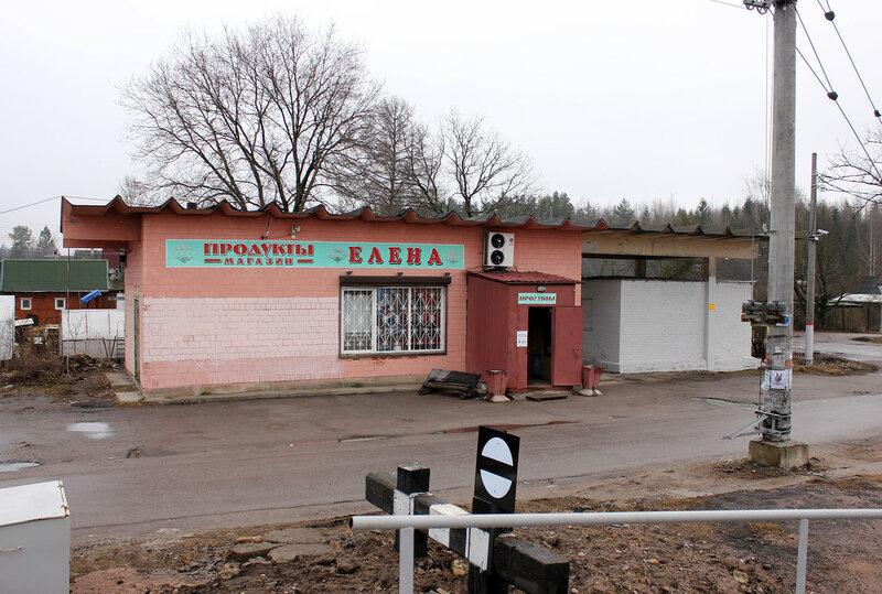 Магазин на станции Новолисино