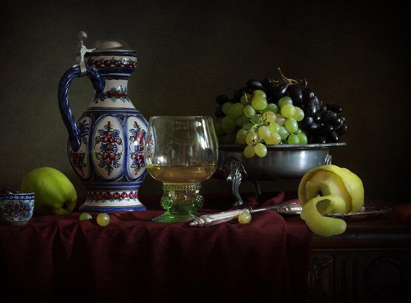 Сок и виноград. Вариант