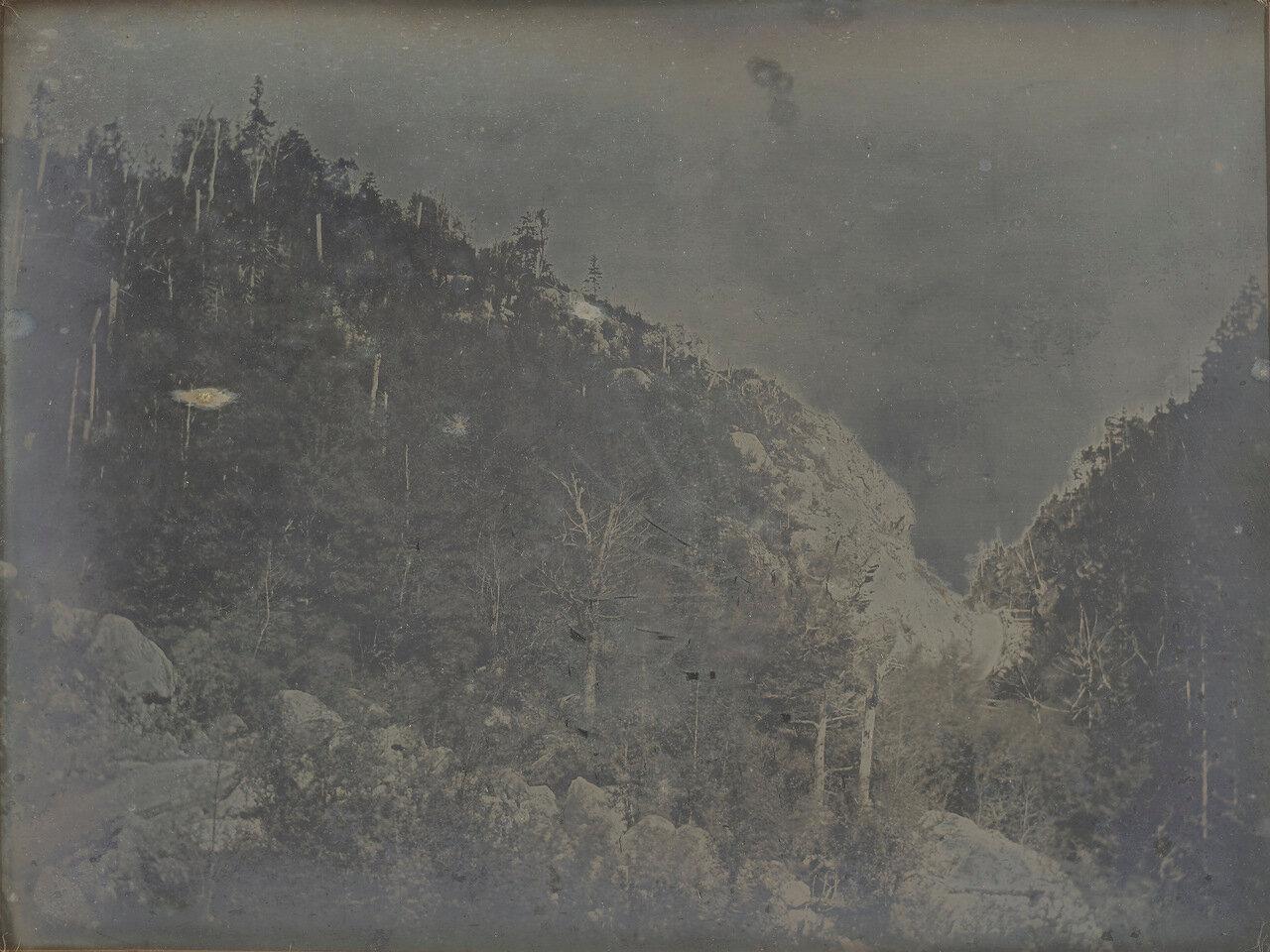 1840. Крофорд Нотч, Нью Гемпшир