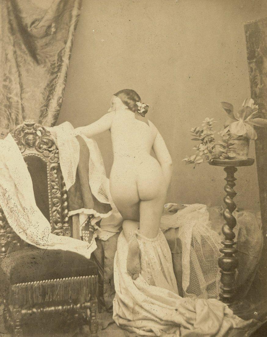 1853. Сцена в  будуаре с обнаженной