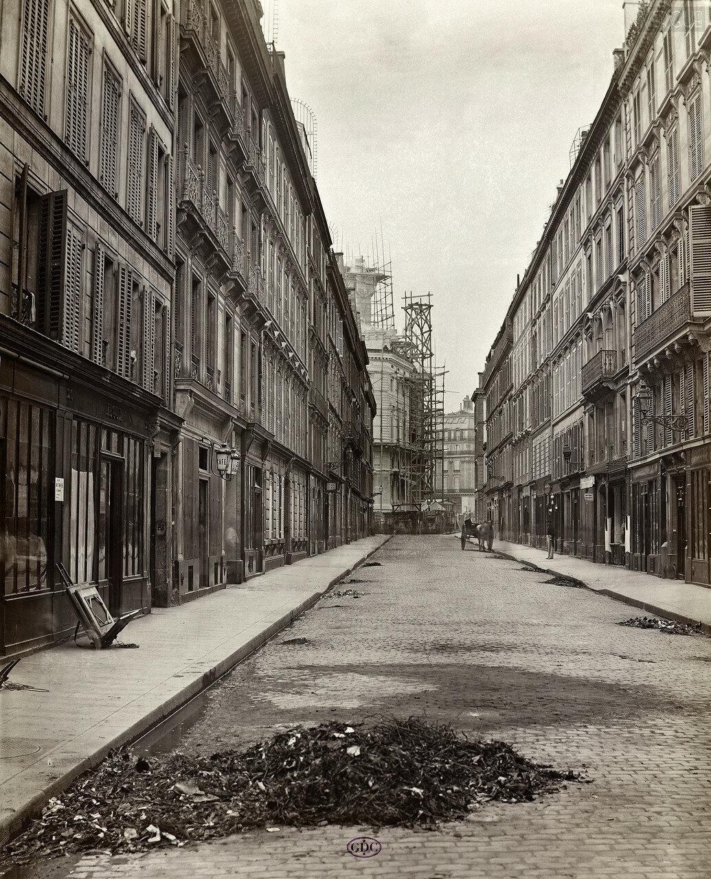 Рю де Могадор. 1866
