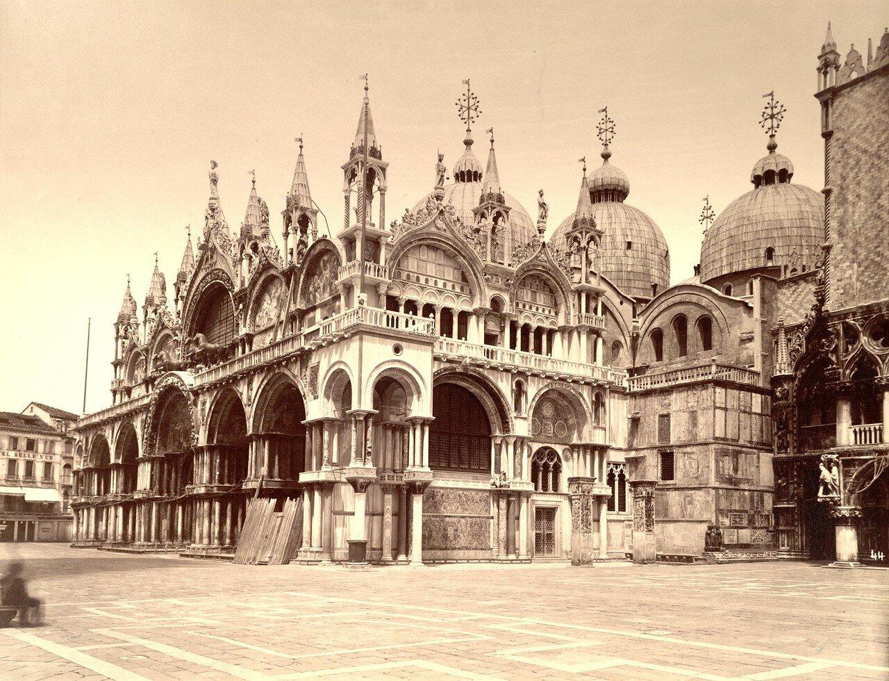 Южный фасад собора Святого Марка и Дворец Дожей